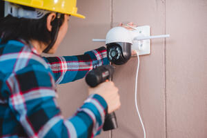 install a CCTV system