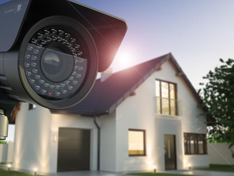 Where Should Home Security Cameras Be Positioned?
