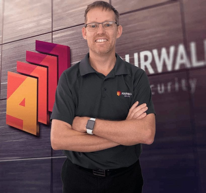 Kevin Cameron Brisbane Security Expert Four Walls
